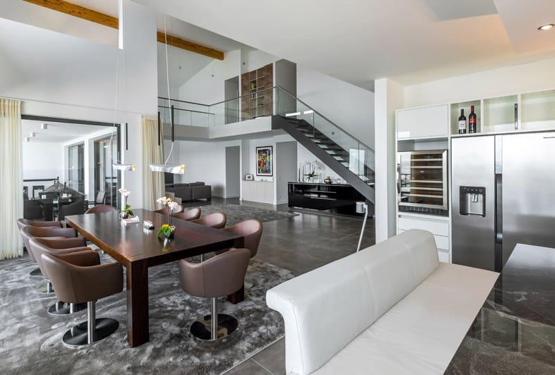 Penthouse Essbereich