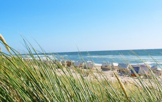 Strandleben an der Ostsee in Scharbeutz