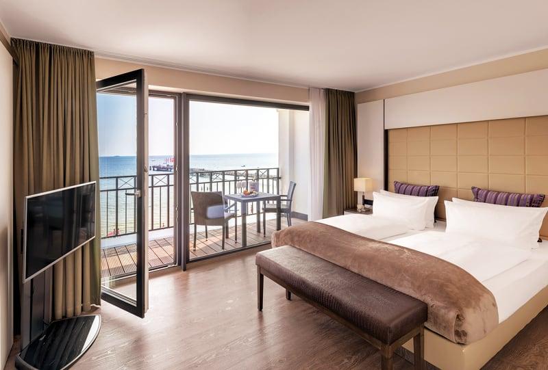 Suite im BAYSIDE Hotel