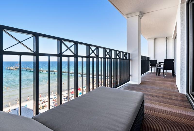 Suite Balkon mit direktem Meerblick