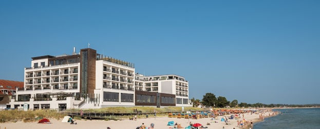 Hotel in direkter Strandlage