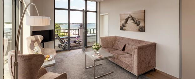 Sky Suite im BAYSIDE Hotel